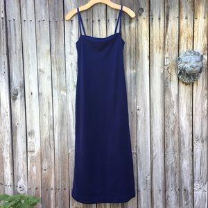 Vintage Vivienne Tam Slip Dress Blue XS